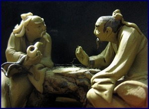 Lao Tzu and Confucius