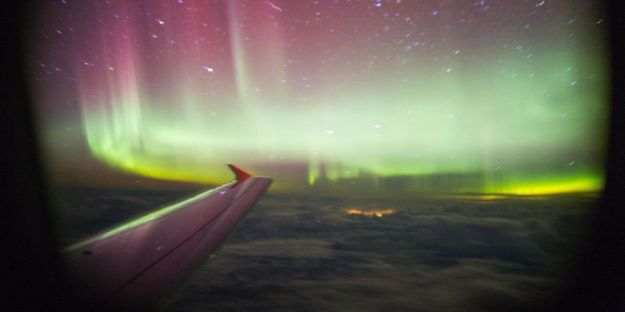 Northern Lights flight